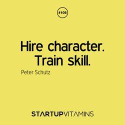 Hire character. Tran Skill.