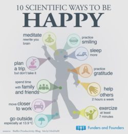 10 Scientific Ways to be Happy