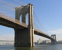 The Story Behind the Brooklyn Bridge