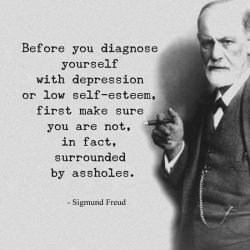 Before you diagnose yourself with depression or low self-esteem, first make sure you are not in  ...