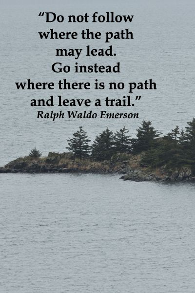 Do Not Follow Where The Path May Lead Go Instead Where There Is No