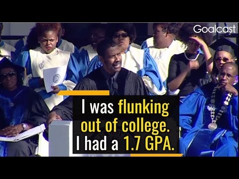 Don't Be Afraid to Fail Big, To Dream Big – Denzel Washington